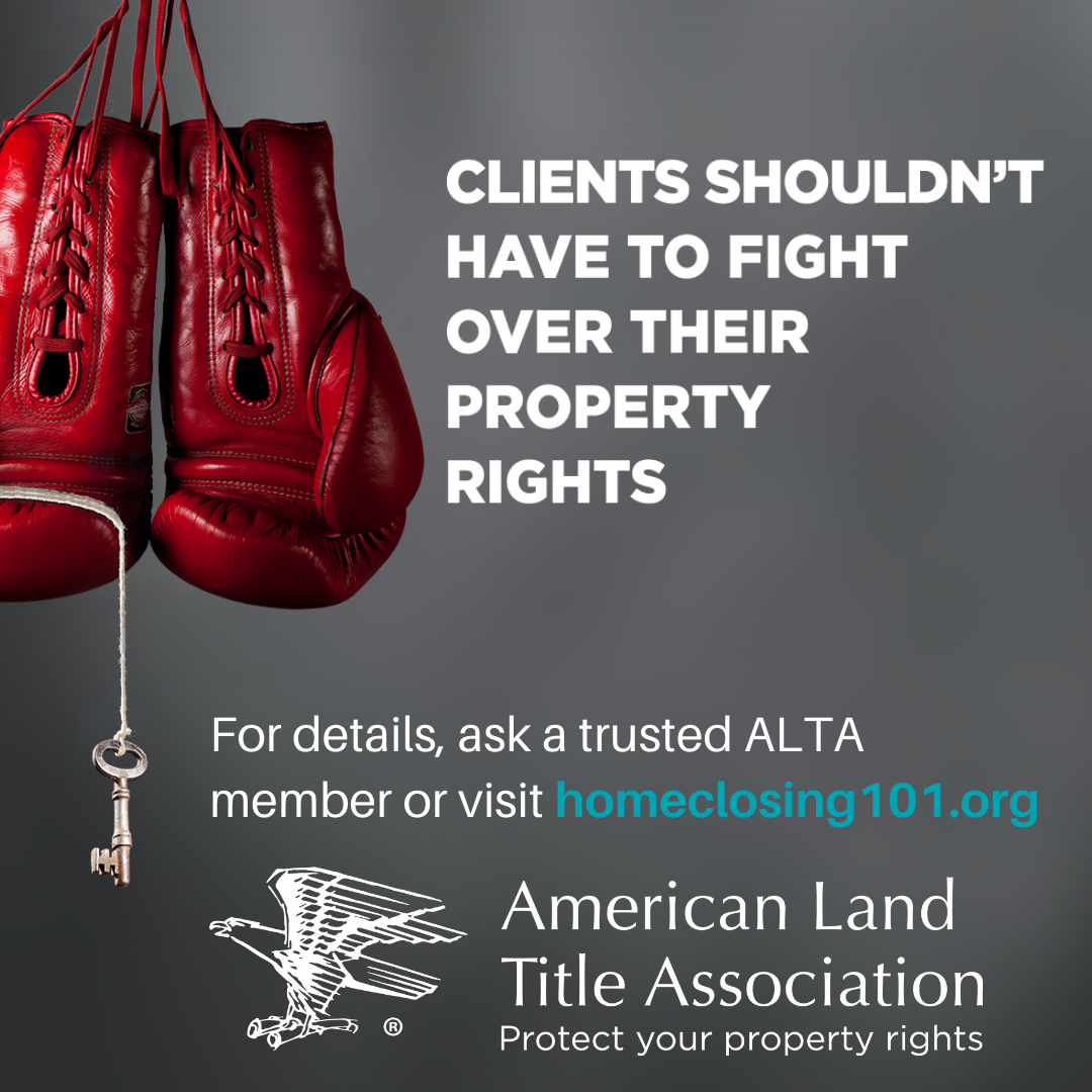 Clients Shouldn't Have to Fight Over Their Property Rights