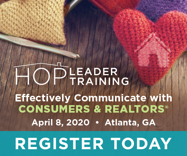 The HOP Leader training is designed to help title agents build relationships with homeowners, lenders and real estate agents and connect with them earlier in the transaction.