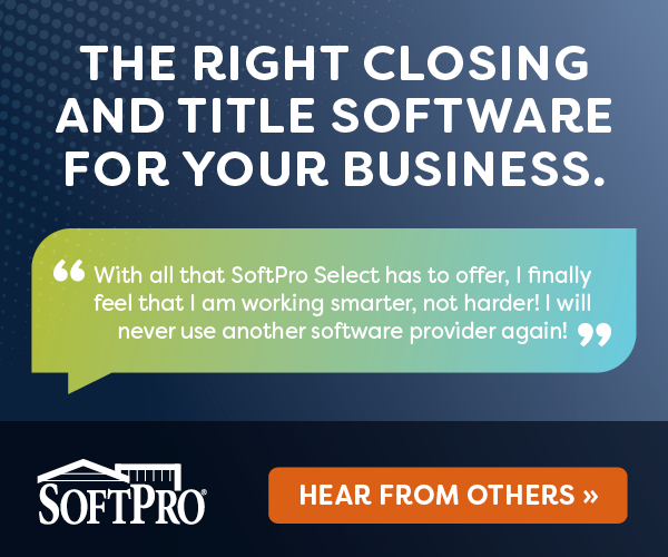 SoftPro is the nation's leading provider of closing and title software, consistently pushing the technological envelope to pioneer the most powerful and comprehensive closing and title automation software on the market. SoftPro's Award-Winning Software combines cutting-edge technology with outstanding support to make your business more productive, efficient and boost your revenue.