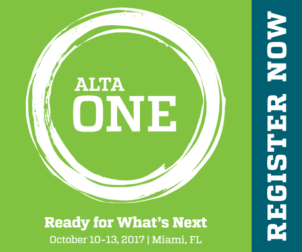 ALTA ONE Sidebar Ad - Green and Blue