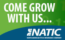 North American Title Insurance Company is a seasoned title insurance underwriter that has been helping customers achieve the American dream of homeownership for more than 50 years. In the past several years, we have become known as the underwriter next door, because our associates are always easy to reach and our processes are, at all times, quick and straightforward. Our agency application process is fast and transparent for qualified agents. NATIC offers a one-hour underwriting response guarantee that is unparallelled in our industry. In addition, we value our agents based on their title industry knowledge and experience, not just on profits alone.