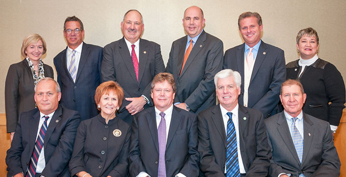 2013 - 2014 Board of Governors